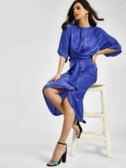 koovs-kimono-sleeve-midi-dress