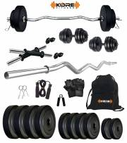 kore-k-pvc-20kg-combo-3-leather-home-gym-and-fitness-kit