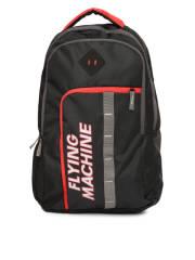 flying-machine-men-black-brand-logo-printed-backpack