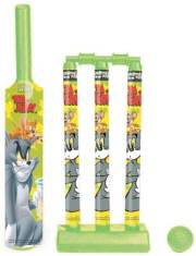 tom-jerry-first-cricket-set-with-bat-ball-3-wickets-base-and-bail-kit-cricket-kit