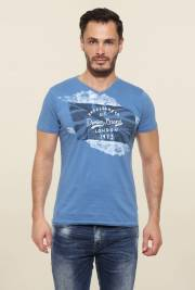 pepe-jeans-blue-printed-t-shirt