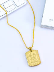 dare-by-voylla-men-gold-plated-rashi-signs-gemini-zodiac-handcrafted-pendant-with-chain