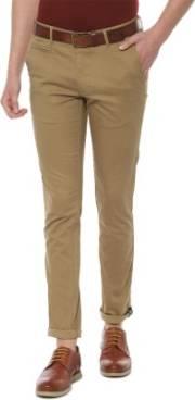 van-heusen-slim-fit-men-khaki-trousers
