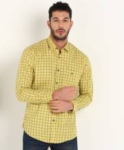 louis-philippe-sport-men-checkered-casual-dark-blue-yellow-shirt