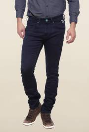 pepe-jeans-navy-raw-denim-solid-jeans