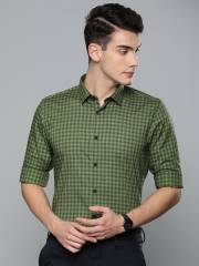 louis-philippe-athwork-men-green-super-slim-fit-checked-casual-shirt