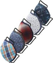 peter-england-peclmskw52136l-cloth-mask-with-melt-blown-fabric-layermulticolor-l-pack-of-5-3-ply