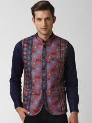 peter-england-men-multicoloured-printed-woven-nehru-jacket-2