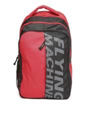 flying-machine-men-red-grey-brand-logo-printed-backpack-1