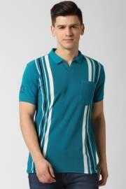 peter-england-striped-men-round-neck-light-blue-t-shirt