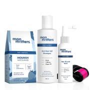 man-matters-complete-anti-hair-fall-kit-grow-hair-tonic-60ml-anti-hair-fall-shampoo-200ml-30-biotin-hair-gummies-activator-roller-with-05mm-needles
