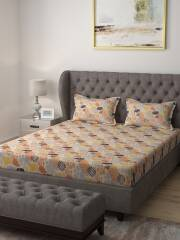 raymond-home-multicoloured-abstract-104-tc-cotton-queen-bedsheet-with-2-pillow-covers-23