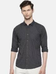wrangler-men-charcoal-grey-slim-fit-printed-casual-shirt-10